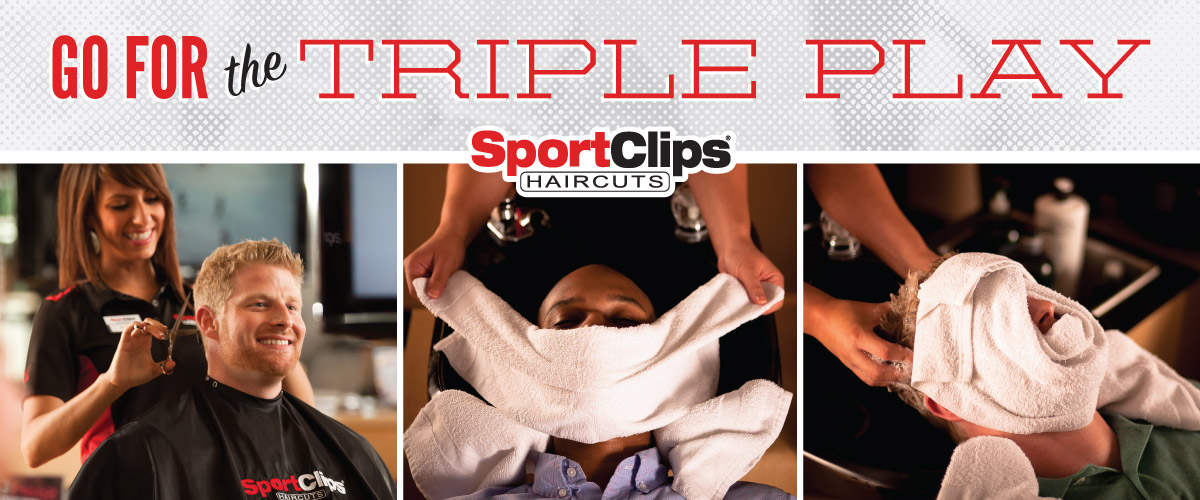 The Sport Clips Haircuts of Paramus - Sprout Brook Center Triple Play